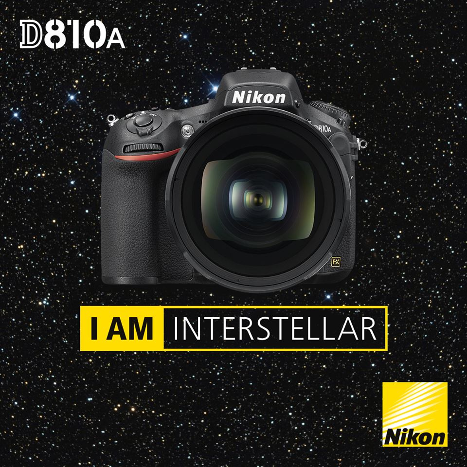 Nikon D810A Soy interestelar