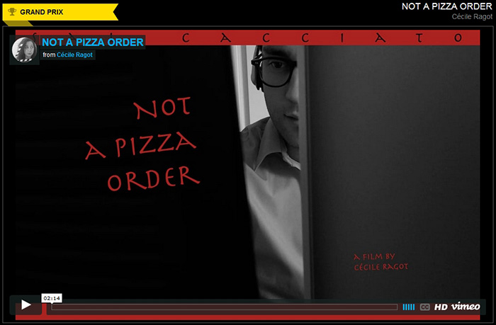 """Not A Pizza Order"" de C�cile Ragot"