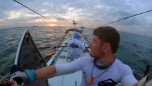 Leaving Singapore | Grant 'Axe' Rawlinson | Rowing from Home to Home | Singapur a Bangka