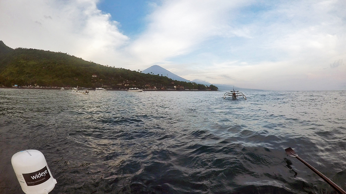 Aboard the boat at Amed Bay from Boat | Grant 'Axe' Rawlinson | Rowing from Home to Home | Bawean a Bali