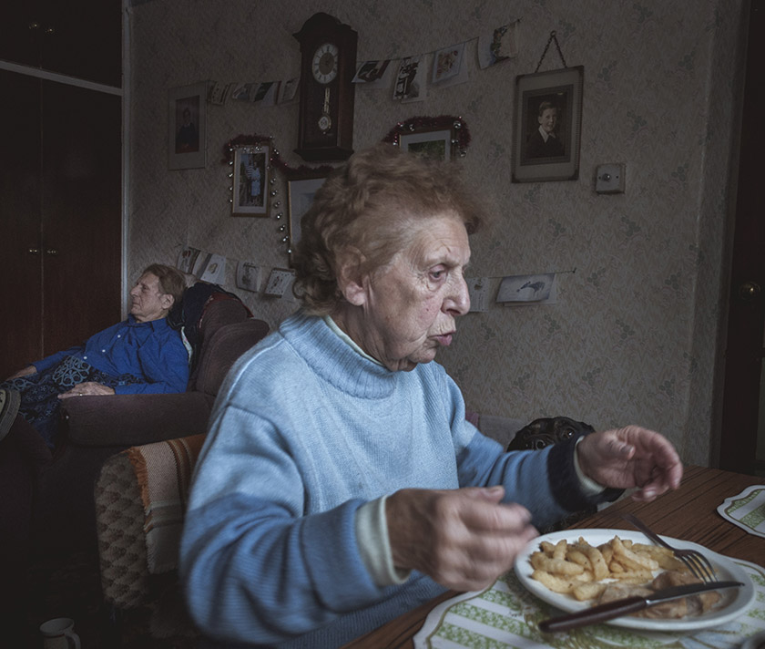 Premio Open Award single photo Gold Prize | Alma and Alzheimer's | ©Jason Parnell-Brookes | Reino Unido