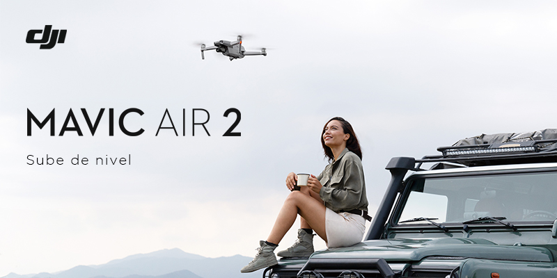 DJI | Sube de nivel Mavic Air 2